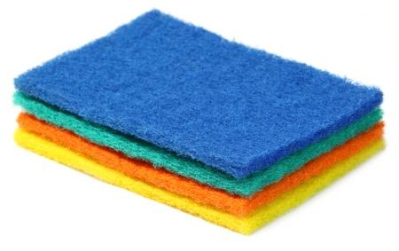 scrubber: Kitchen Scrubber Stock Photo