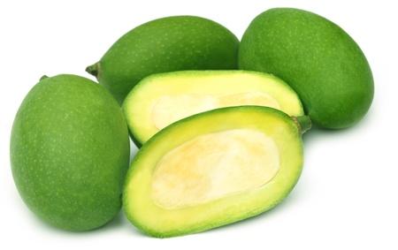 green mango: Fresh green mango