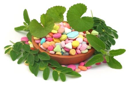 Herbal pills Stock Photo - 19370980