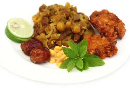 Popular Iftar items for holy Ramadan in Bangladesh Stock Photo