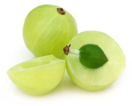 Sliced amla