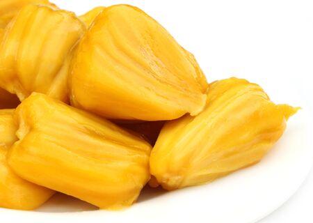 flesh: Juicy jackfruit flesh Stock Photo