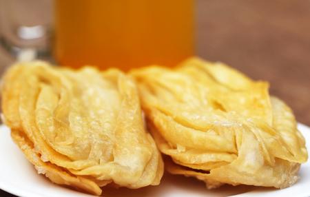 named: Bengali treats named as GOJA Stock Photo