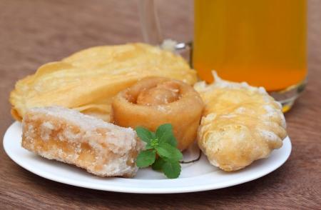 bengali: Bengali treats named as GOJA Stock Photo