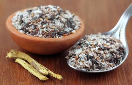 purgative: Medicinal herbs - Isabgol and yastimadhu