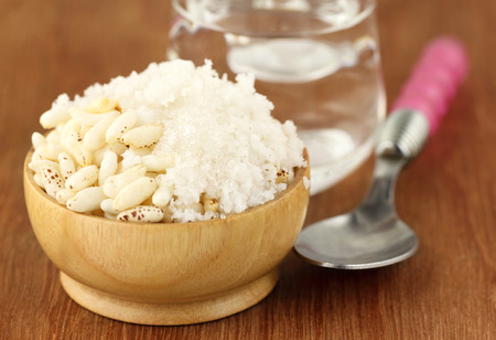 puffed: Puffed rice with coconut