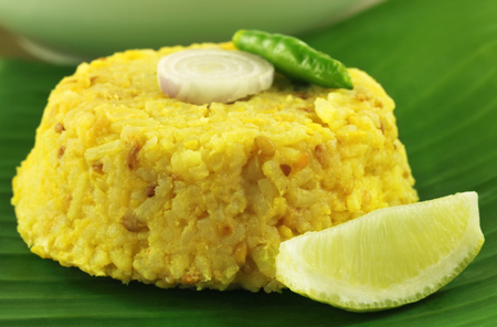 named: Bengali cuisine of rice and lentils named as Khichuri