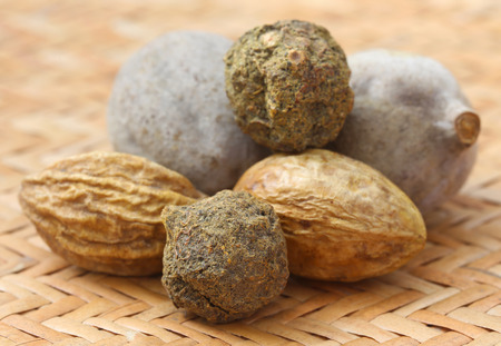 subcontinent: Triphala, a combination of ayurvedic fruits, of Indian subcontinent