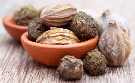 Triphala, a combination of ayurvedic fruits, of Indian subcontinent