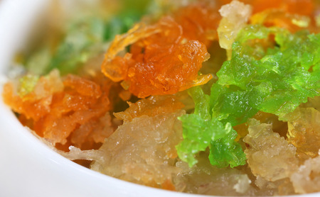 subcontinent: Sweet rice or Zarda of Indian subcontinent Stock Photo