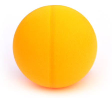 tabletennis: Table tennis ball over white background