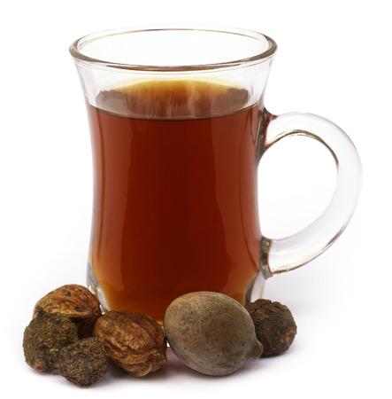 subcontinent: Medicinal Triphala Tea, a combination of ayurvedic fruits, of Indian subcontinent Stock Photo