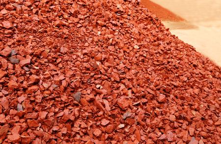 aggregates: Aggregates of bricks for making concrete