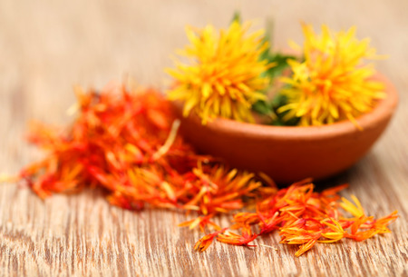 safflower: Safflower used as a food additive
