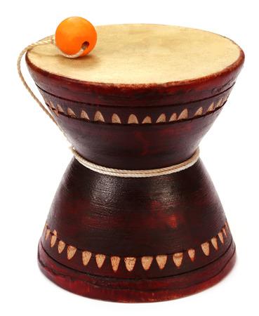 Musical instrument Damaru known as dugdugi in Bangladesh