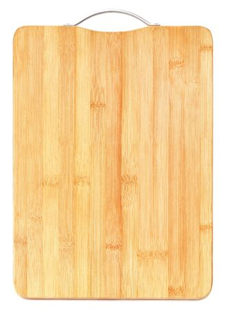 chopping board: Chopping board over white background