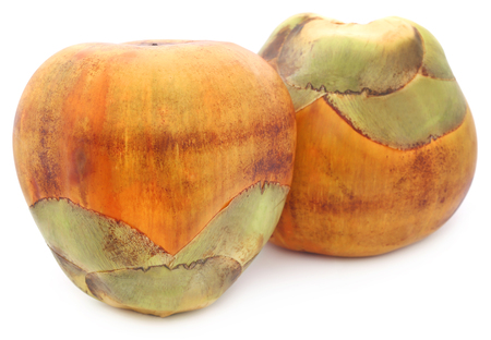 subcontinent: Borassus flabellifer or Tal fruit of Indian subcontinent Stock Photo