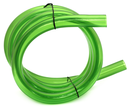 tubing: Green Tubing isolated over white background