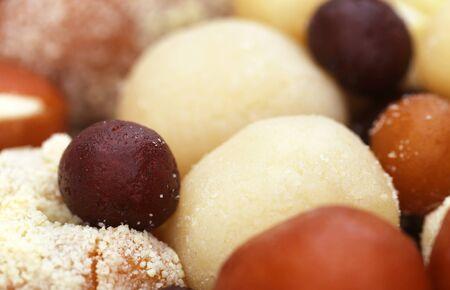 gulab: Closeup of popular Bangladeshi sweetmeats
