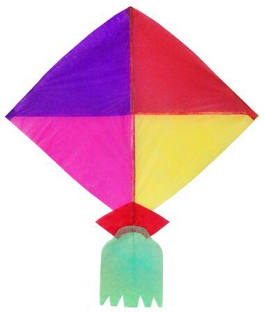 paper kites: Traditional Bangladeshi kite made of thin papers Stock Photo