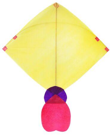 Traditional Bangladeshi kite made of thin papers Stock Photo