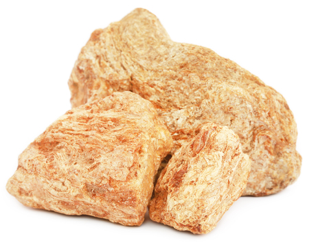 Frankincense dhoop, a natural aromatic resin used in perfumes and incenses