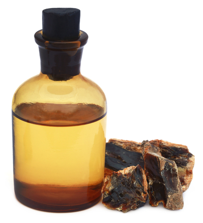 rites: Frankincense dhoop with essential oil, a natural aromatic resin used in perfumes and incenses