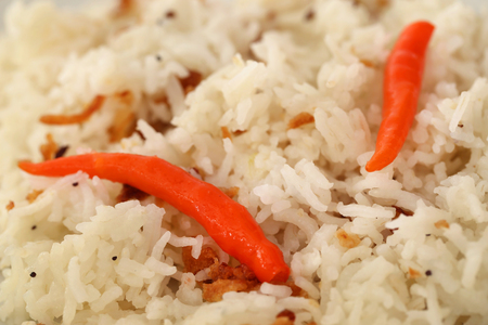 Polao or pilaf is special cooked rice very popular in Indian subcontinent