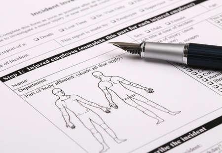 informe: Incidentes forma parte de lesiones