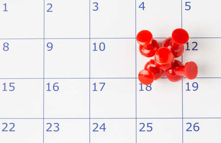important date: Important date or concept for busy day