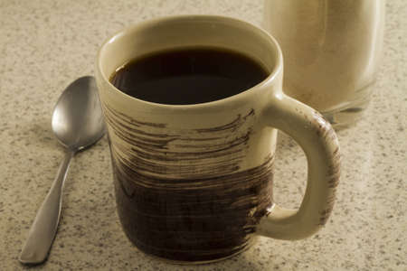 decaffeinated: COFFEE Stock Photo