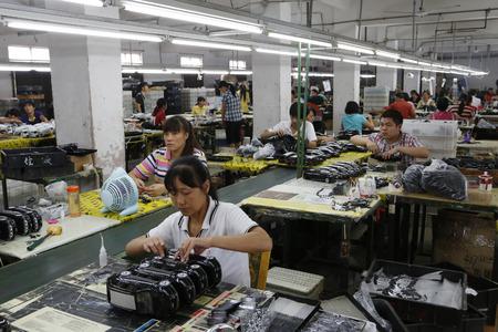 생산 라인 근로자