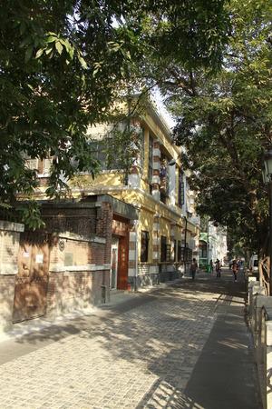 ShaMian, 광저우의 고전적인 건물들과 거리