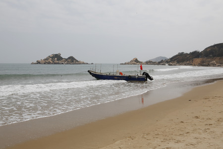 바다에서의 보트