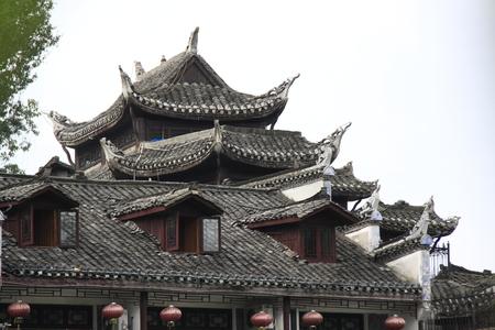 중국 지붕과 처마