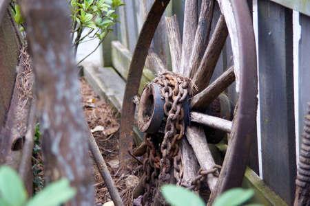 Rusitc Wagon wheel