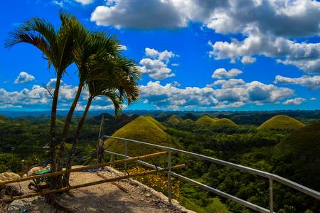 The stunning Chocolate Hills of Bohol, Philippines
