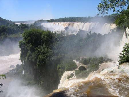 Iguassu Falls, Brazil  Argentina, South America photo