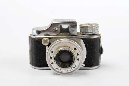 Vintage Mini Camera Stock Photo