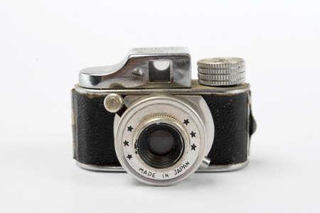 Vintage Mini Camera Stock Photo