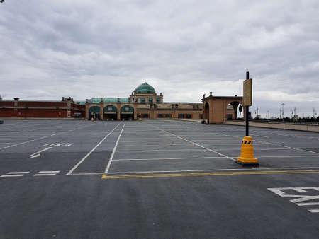 Manchester, England, United Kingdom - 04/02/2020: Trafford Centre empty upper car park due to coronavirus (COVID-19). Éditoriale