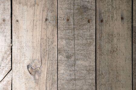 Aged wood slat wall Banco de Imagens