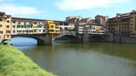 firenze: Firenze apartment bridge