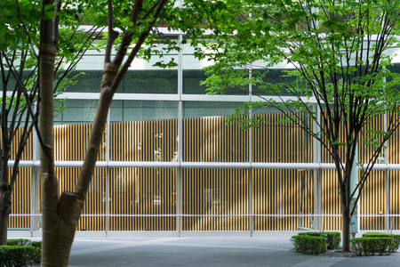 Shopping street background Foto de archivo - 83277722