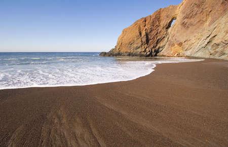 Beach and Hole