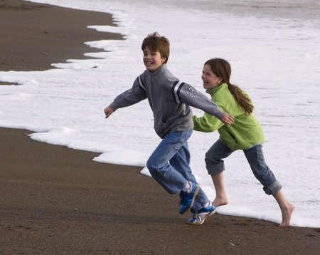 fast foot: Flee