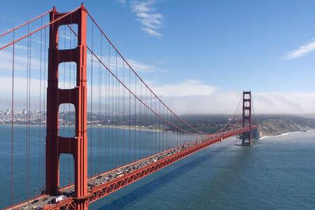 Golden Gate Landschap Stockfoto