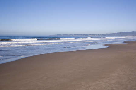 Wide Angle Beach