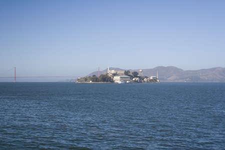Alcatraz Distant Stock Photo - 1998725