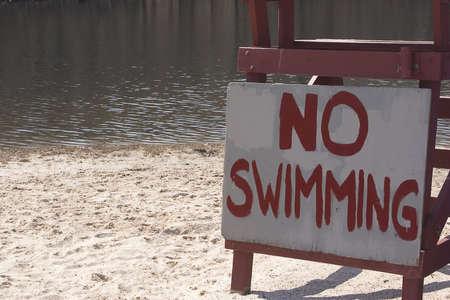 No Swimming Shore
